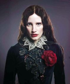 New still & promo pic from Guillermo's book about Crimson Peak