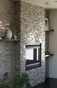 Modern Fireplaces Stone Fireplace