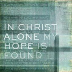 """In Christ Alone"" by Dallas Drotz, Texas // In Christ alone my hope is found. Inspired by song based on Philippians 3:7-11. // Imagekind.com -- Buy stunning fine art prints, framed prints and canvas prints directly from independent working artists and photographers."