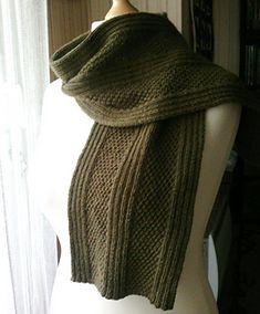 C'est une écharpe toute simple, mais qui fait son effet  !