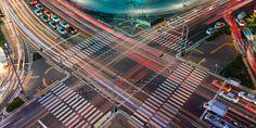 """Südkorea baut eine künstliche Stadt für autonome Autos    K-City: Koreanische """"Teststadt"""" für selbstfahrende Autos Innovation, Fair Grounds, City, Vehicles, Cities"""