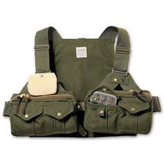 This is some sick Fly Fishing Strap Vest from Filson!