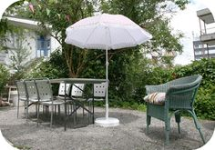 Perfect for dining out in the beautiful garden.
