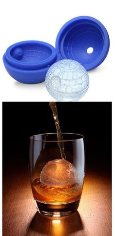 Death Star Ice Cube Tray -  Feel the Icy Chill of the Dark Side For Eric