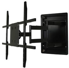 Black Friday 2014 In Wall Recessed Articulating TV Mount for 42 to 70 Inch TVs LCD, LED, or Plasma - Extends 28 Inches from Aeon Stands and Mounts Cyber Monday. Black Friday specials on the season most-wanted Christmas gifts. Support Tv, Support Mural, Home Depot, Montage Tv, 80 Inch Tvs, Best Tv Wall Mount, Full Motion Wall Mount, Curved Tvs, Swivel Tv Stand