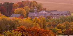 Gouden Klooster | Golden Monastery  The Redemptionist Monastery of Wittem in golden Autumn light  Photo © Maurice Hertog Fotografie