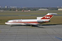Boeing 727-31, N831TW, TWA - Trans World Airlines