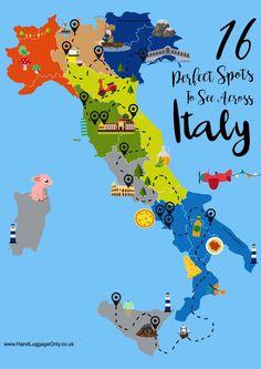 Map Of Italy Lake Como Venice Cinque Terre Florence Siena