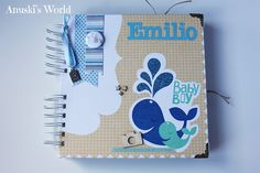 Álbum de bebé para Emilio - Anuski´s World