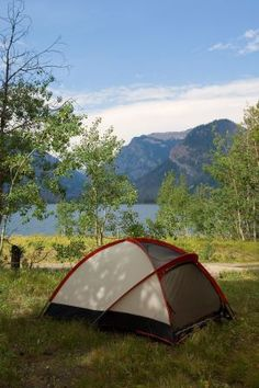 North end of Grand Tetons NP, for second half of first week.  First come camping, tents only, less developed so less popular.    Camping on Jackson Lake | Grand Teton National Park - Signal Mountain Lodge