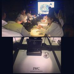 #Watchmaking class with renowned #watchmaker #KurtKlaus hosted by #IWCSchaffhausen. #PencellPR #MyDubai #IWCwatches
