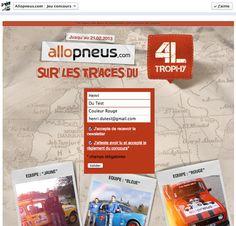 Contest Allopneus.com - Powered by #Socialshaker