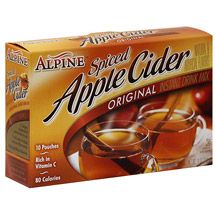 Alpine Spiced Apple Cider Drink Mix. I enjoy drinking this to relax and unwind!☕️