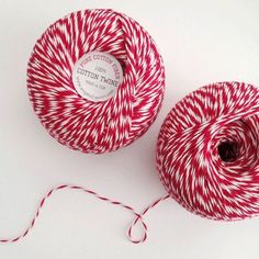 Martha Stewart American Made Studio Carta: 100% Cotton Twine, 300 Yards, in Red, Black, Emerald or Natural