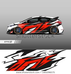 Find Racing Car Wrap Design Vector Graphic stock images in HD and millions of other royalty-free stock photos, illustrations and vectors in the Shutterstock collection. Thousands of new, high-quality pictures added every day. Gt Cars, Race Cars, Car Wrap Design, Racing Car Design, Lamborghini Cars, Car Mods, Car Painting, Rally Car, Disney Drawings