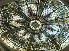 Stained Glass Dome by apeculiarpersonage.deviantart.com on @deviantART