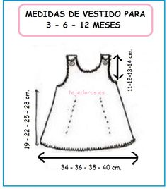 Diy Crafts - DIY & crafts projects, contents and more - Diy Crafts Solo Ropita De Bebe En Punto Ganchillo 110690103328319369 P Baby Girl Dress Patterns, Baby Clothes Patterns, Dress Sewing Patterns, Baby Girl Dresses, Baby Knitting Patterns, Baby Patterns, Skirt Patterns, Coat Patterns, Blouse Patterns