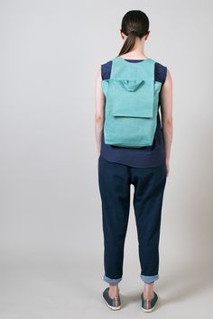 Lightweight canvas backpack; a perfect day bag by cole hands
