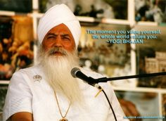 LESSON: Value yourself.  (a Yogi Bhajan quote)