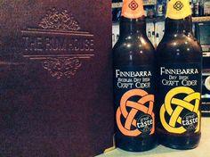 Finnbarra cider, Irish craft cider at the Rum House, Broad Street, Nottingham, UK
