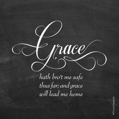 Grace...More at http://beliefpics.christianpost.com/