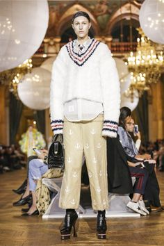 Thom Browne Fashion Show Ready to Wear Collection Spring Summer 2018 in Paris