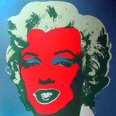 Prints by Andy Warhol (Sunday B. Morning) > Marilyn VIII #warhol #popart #art #prints #marilyn | https://www.artetrama.com/en/artworks/andy-warhol-sunday-b-morning-marilyn-viii