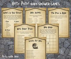 15 Magical Ideas For Throwing The Perfect Harry Potter Themed Baby Shower | Baby  Shower | Pinterest | Harry Potter, Babies And Harry Potter Theme