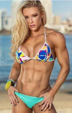 Girls With Abs, Ripped Girls, Hot Girls, Sexy Bikini, Bikini Girls, Bikini Swimwear, Fitness Inspiration, Fitness Models, Fitness Women
