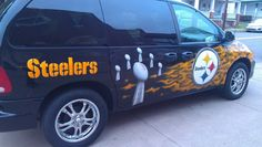 This soccer mom votes for the Steelers! Steelers Pics, Here We Go Steelers, Pittsburgh City, Pittsburgh Steelers Football, Pittsburgh Sports, Steelers Stuff, Football Team, Steelers Terrible Towel, Autos