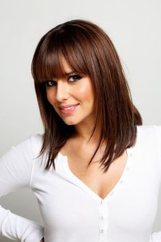 For 2013 And Hair Colors Short Long Medium Layered - Free Download For 2013 And Hair Colors Short Long Medium Layered #89127 With Resolution 396x594 Pixel   WooHair.com Haircuts For Thin Fine Hair, Layered Haircuts With Bangs, Small Face Hairstyles, Straight Hairstyles, Oval Faces, Long Faces, Fringe Hairstyles, Easy Hairstyles, Layered Hairstyles