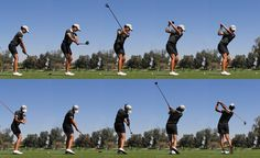 Gallery For > Womens Golf Swing Sequence