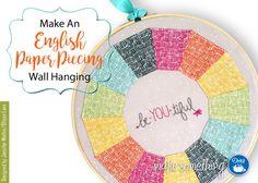 Make an English Paper Piecing Wall Hanging
