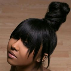 Beautiful hair. Great hair style post Get human hair bundles https://totallymayvenn.mayvenn.com/