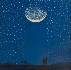 stars, moon, and night image Cosmos, Touch Of Gray, Moon Garden, Sun And Stars, Good Night Image, Tumblr, Son Luna, Source Of Inspiration, Design Inspiration