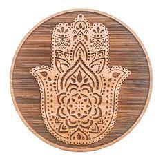 Hamsa Hand Coaster Set