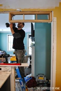 The Chronicles of Home: Kitchen Part 2 - How to Install Transom Windows