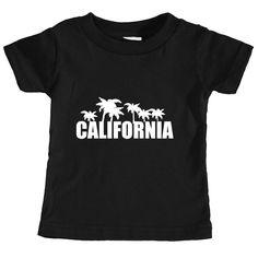 California Palm Tree - Infant T-Shirt