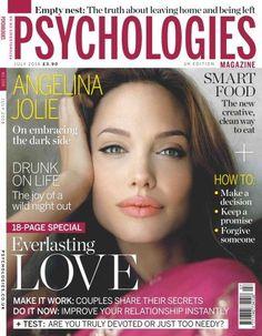 Angelina Jolie, Psychologies Magazine [United Kingdom] (July 2014)