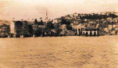 Denizden Beşiktaş Görünümü