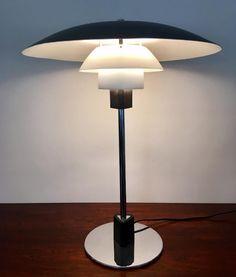 Vintage Model PH 4/3 Table Lamp by Poul Henningsen