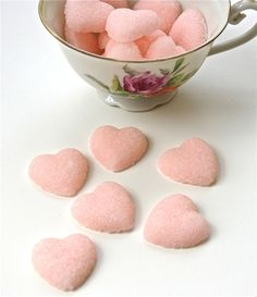 Sweeten Your Tea With DIY Rose Petal Sugar : hgtvgardens Chocolate Bonbon, Salsa Dulce, Champagne Toast, Sugar Cubes, Tea Sandwiches, Rose Tea, Pastel Cupcakes, My Tea, Sugar Rush