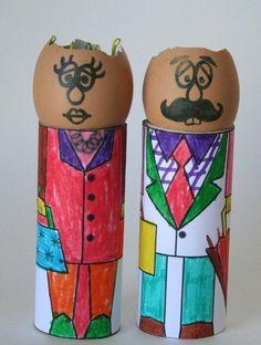 manualidades cascara de huevo cara (4)