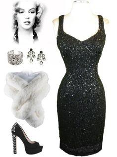 http://www.lebombshop.net/  pinup, sequin, wiggle dress, va va voom!