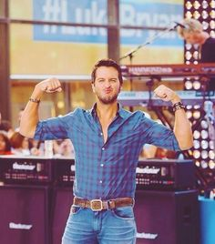 luke bryan might be more cute than a puppy. just maybe.