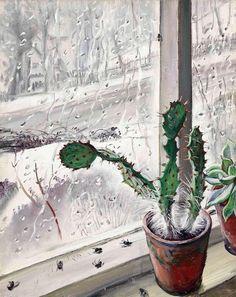 Dame Laura Knight (1877-1970) - Cactus