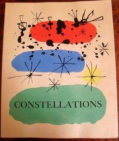 Libro Ilustrado - Joan Miró - Constellations - Joan Miró / André Breton
