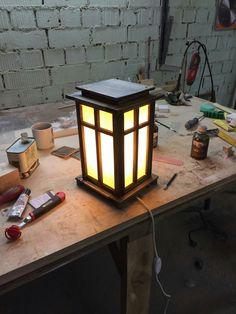 Wood lamps. Wood light. AoW.