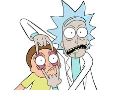 Rick and Morty, my glip glops!