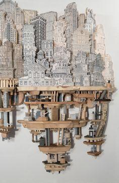 Industry / Entropy - Luke O'Sullivan. via Mary Kroetsch. Artists on tumblr